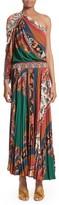 Etro Women's Print One-Shoulder Maxi Dress
