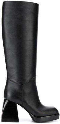 Nodaleto High Heel Knee-Length Boots