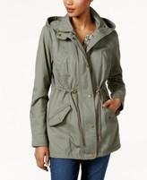 Style&Co. Style & Co Style & Co Petite Cotton Hooded Utility Jacket, Created for Macy's