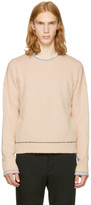 3.1 Phillip Lim Beige Plaited Boxy Sweater