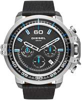Diesel Men's Deadeye Chronograph Leather Strap Watch, 51mm x 56mm