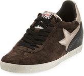 Ash Guepard Suede Star Wedge Sneaker