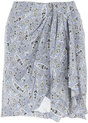Isabel Marant Ixori Draped Mini Skirt