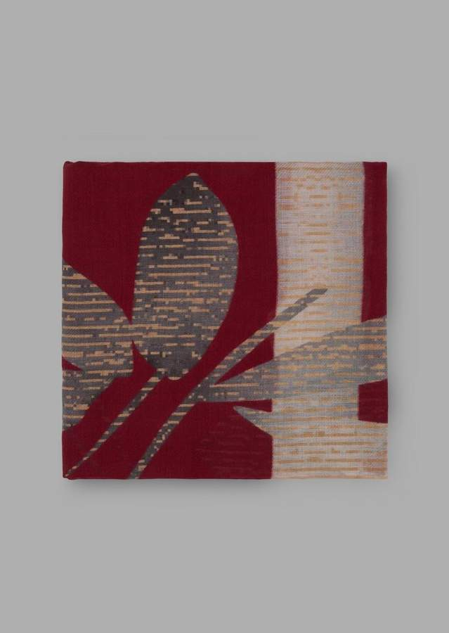 Giorgio Armani Stole With Bamboo Motif