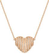 Swarovski Changeable Crystal Pavé Heart Pendant Necklace