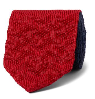 Missoni 6.5cm Colour-Block Crochet-Knit Cotton And Silk-Blend Tie
