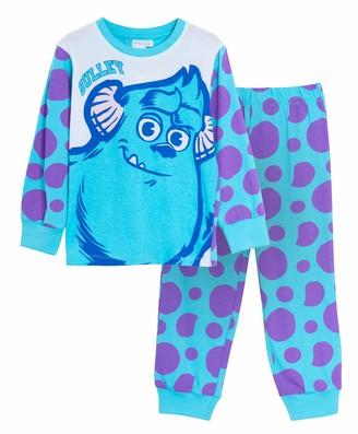 Disney Kids Monsters Inc Sulley Dress Up Pyjamas 6 Years Blue
