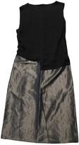 Narciso Rodriguez Grey Silk Dress for Women