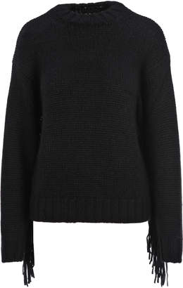 Alanui Fringed Knitted Sweater