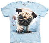 The Mountain Blue Pug Tee - Toddler & Kids