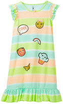 Petit Lem Cool Emoji Nightgown (Toddler & Little Girls)