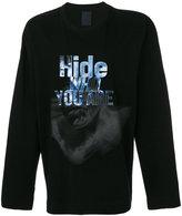 Juun.J graphic printed sweatshirt
