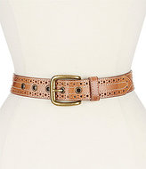 Bed Stu Addison Perforated Belt