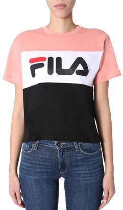 Fila Allison Logo Contrast T-Shirt