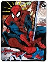 Marvel Spider-Man Spider Origins Plush Micro-Raschel Throw