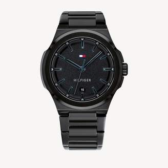 Tommy Hilfiger Black Ion-Plated Casual Watch