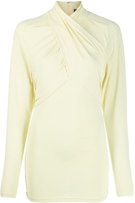 Isabel Marant Stretch Twist-Neck Top