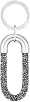 Swarovski Crystaldust Key Ring, Gray