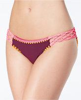 Jessica Simpson Woodstock Macramé Hipster Bikini Bottoms