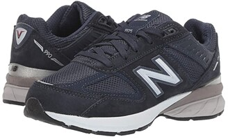 New Balance 990v5 Launch (Little Kid) (Navy) Kids Shoes
