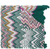 Missoni crochet-knit scarf