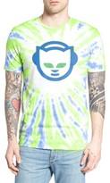Altru Men's Tie Dye Napster Graphic T-Shirt