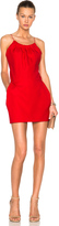 Victoria Beckham Ruffle Cami Mini Dress