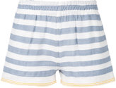 Lemlem striped shorts - women - Cotton/Acrylic - S