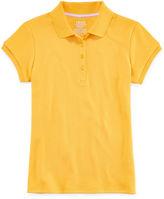 IZOD EXCLUSIVE IZOD Short-Sleeve Interlock Polo - Girls 7-18 and Plus