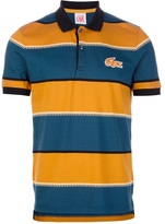 Lacoste Live striped polo shirt