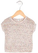 Splendid Girls' Mélange Short Sleeve Top