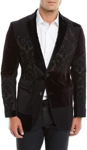 Etro Patchwork Velvet Jacket