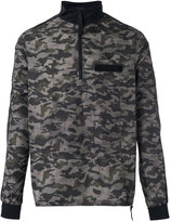 Halo camouflage windbreaker