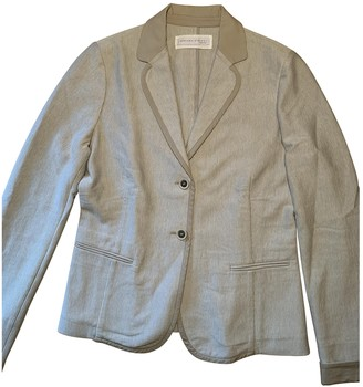 Fabiana Filippi Ecru Cotton Jackets