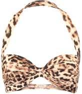 Norma Kamali BILL Bikini top caramel