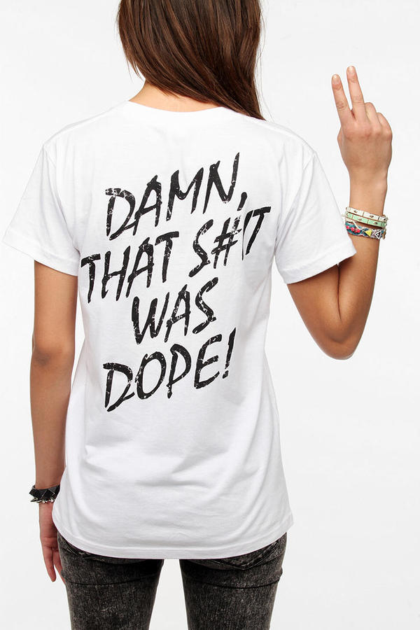 Urban Outfitters NWA Damn That Was Dope Tee