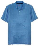 Izod Mens Perform X Striped Rugby Polo Shirt 2Xl