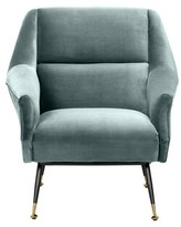 Eichholtz Exile Armchair Upholstery Color: Turquoise