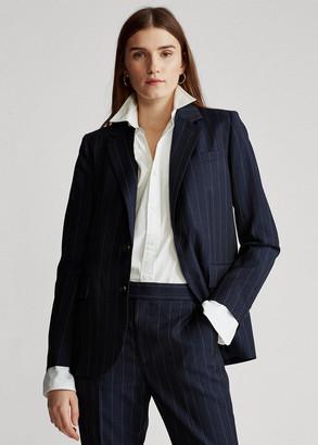 Ralph Lauren Pinstripe Wool Blazer