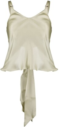 Bordelle Chiffon Open Back Top