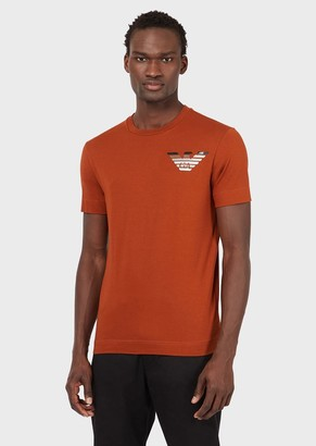Emporio Armani Via Manzoni 31 Supima T-Shirt