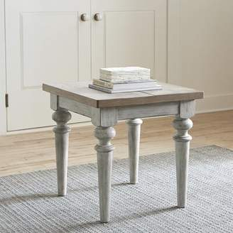 Feminine French Country End Table Feminine French Country