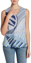 Nic+Zoe Seastripe Patterned Tank (Petite)