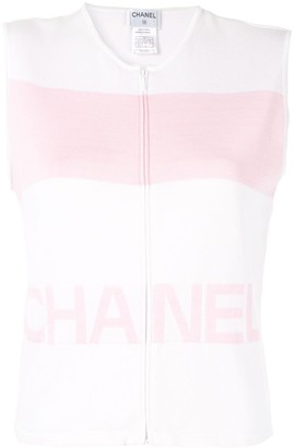 Chanel Pre Owned Sleeveless Jumper