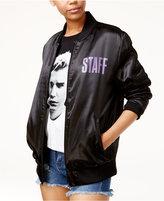 Bravado Justin Bieber Purpose Tour Juniors' Graphic Bomber Jacket