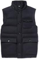 Ermenegildo Zegna - Wool-flannel Down Gilet