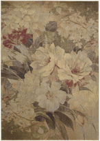 Nourison Antique Floral Rectangular Rug
