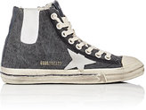 Golden Goose Deluxe Brand Women's V-Star 1 Canvas High-Top Sneakers-DARK GREY