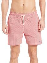 Barbour Striped Swim Trunks