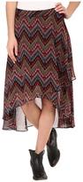 Roper 9905 Aztec Print Georgette Skirt